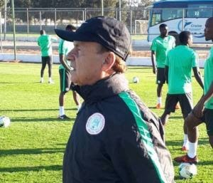 Rohr Confesses He Can't Win AFCON 2021 For Nigeria