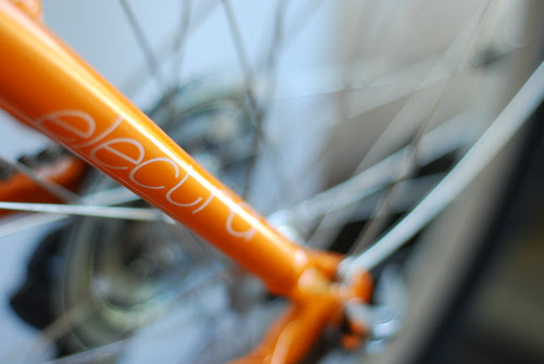 New Bike Bokeh.  HBW!