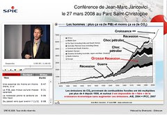 Jean-Marc Jancovici : 'Plus ça va (le PIB) moi...