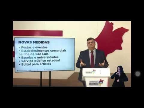 Festas, eventos e aulas presenciais estão proibidos no Maranhão; comércio funcionará entre 9h e 21h, a partir de sexta-feira (5)