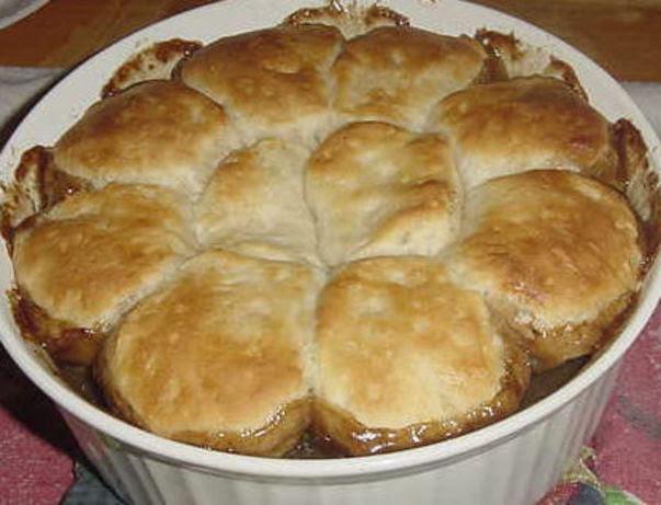Biscuit-Topped Steak Pie Recipe - Food.com