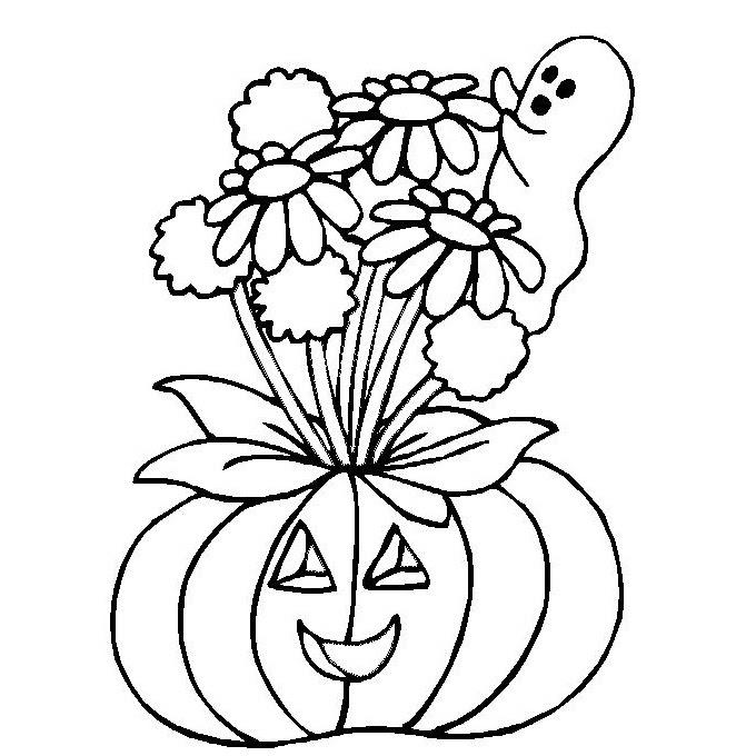 Dibujos De Floreros Con Flores Para Colorear