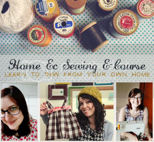 home ec course by freckled nest