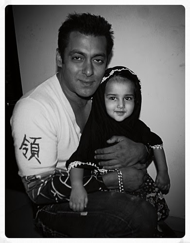 Marziya Shakir  And The Greatest Khan Of All Time -Salman Khan by firoze shakir photographerno1