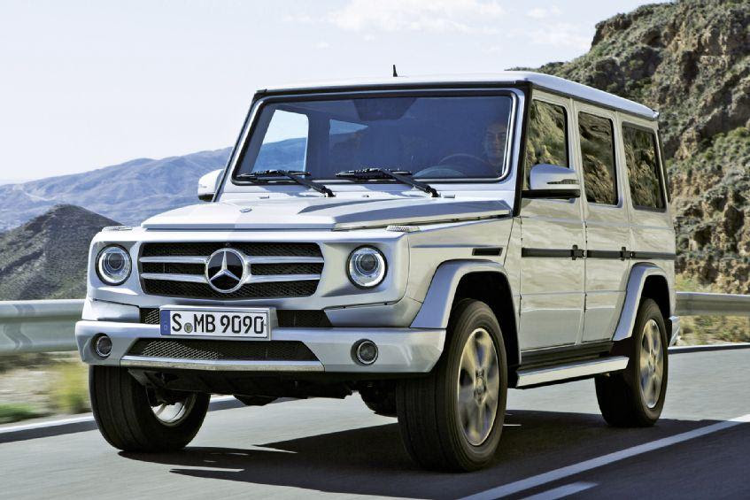 Mereceds-Benz G-Class to be redesigned for 2016 | Digital ...