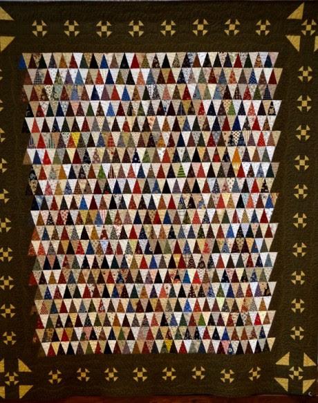 A thousand pyramids, border churn dash blocks