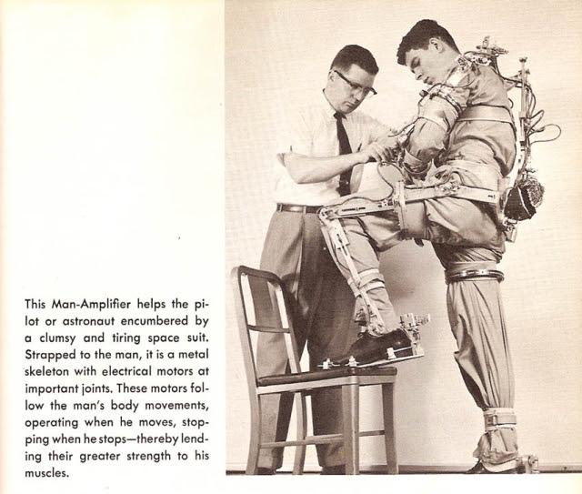 man amplifier bionics x640 1961 2   Cornell Aeronautical Labs Man Amplifier   Neil Mizen (American)