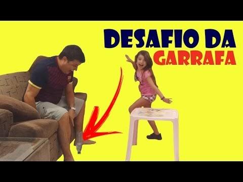 O INCRÍVEL DESAFIO DA GARRAFA (Water Bottle Challenge)