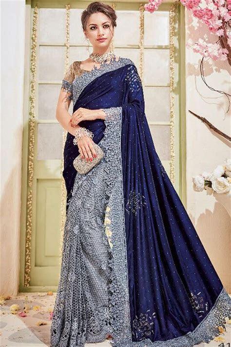 Latest Indian Bridal Elegant Saree Designs Trends 2018 2019