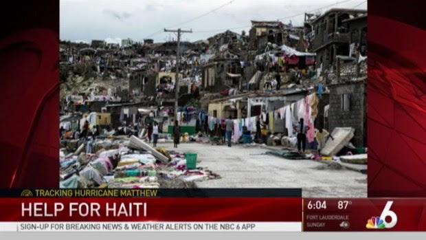 Image result for Hurricane Matthew Help for Haiti