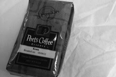 Coffee in the City - Peets Kona Reserve