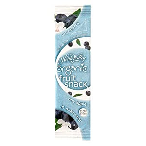Kettle Valley Certified Organic Real Fruit Snack, Blueberry, 0.7-Ounce Bars (Pack of 30)