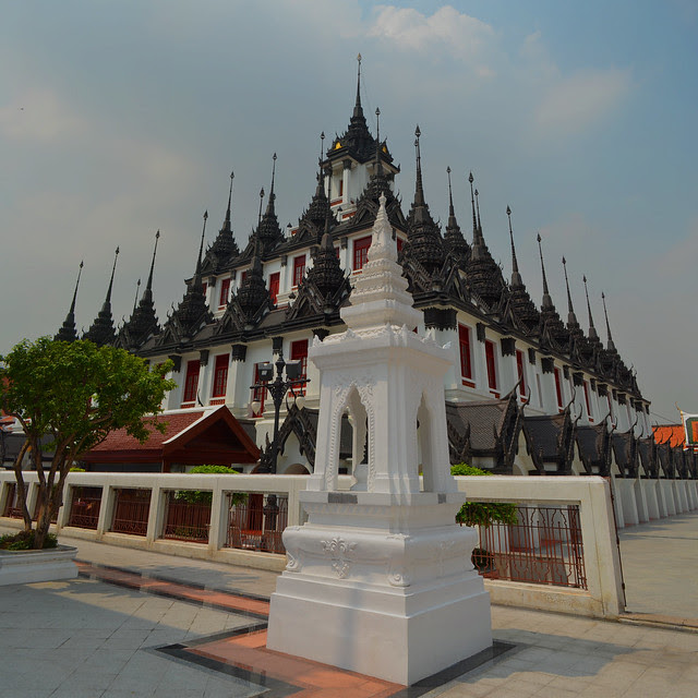 Location Map of Wat Ratchanaddaram/Loha Prasat Bangkok Thailand,Wat Ratchanaddaram/Loha Prasat Bangkok location map,Wat Ratchanaddaram/Loha Prasat Bangkok Accommodation Destinations Attractions Hotels Map Photo Pictures