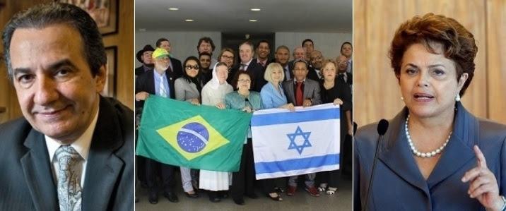 silas evangélicos dilma israel gaza