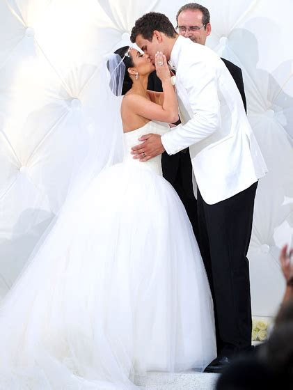 Craziest celeb weddings: Kim Kanye; Cruise Katie; Brad