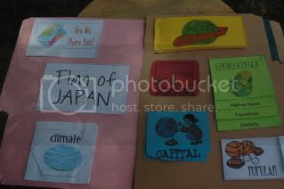 school,japan lapbook