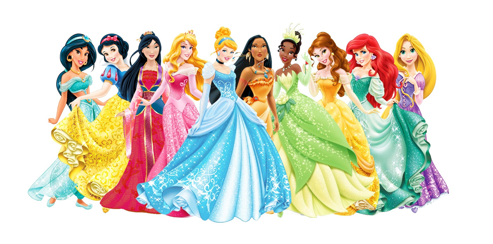 Disney Princess Lineup - Disney Princess Photo (35768362 ...