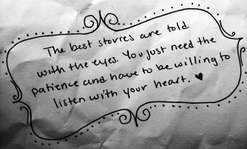 Brianna Marie Guzik Eyeswideshut Listen To Your Heart Quotes