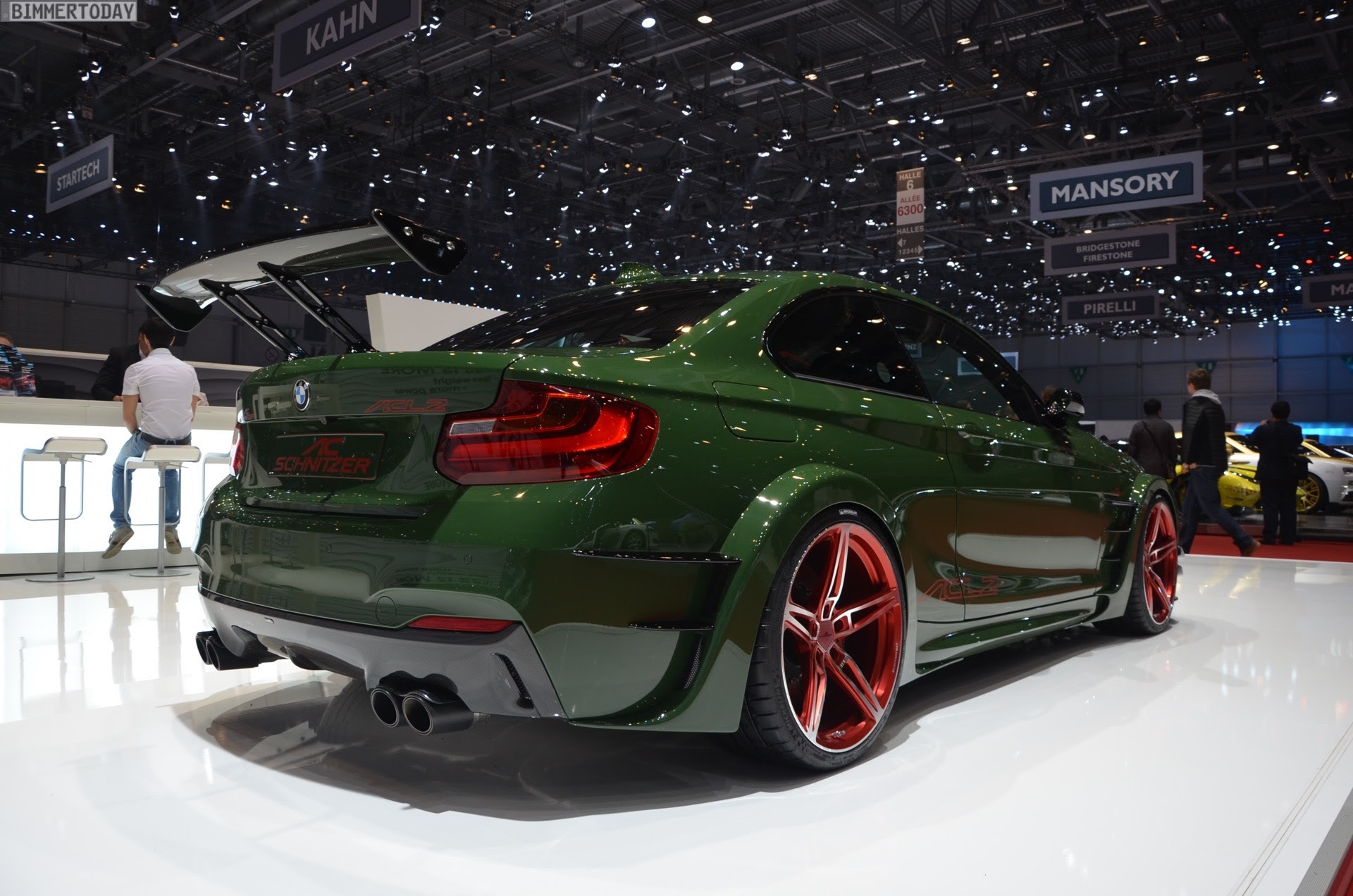 AC Schnitzer ACL2 with 570 horsepower  Live from 2016 Geneva Motor Show