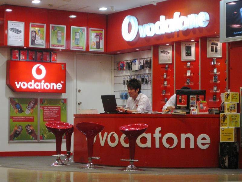 Vodafone outages prevent phone calls, data