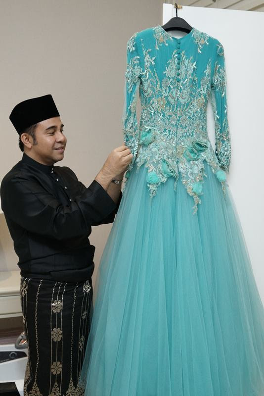 Gambar Perkahwinan Diraja Tengku Amalin Aishah Putri & Pengiran Muda Abdul Qawi