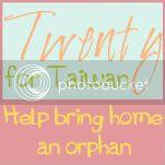 Twenty for Taiwan