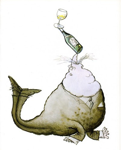 Winespeak - Full bodied, with great character - Ronald Searle