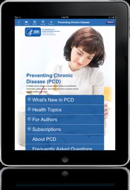 PCD iPad application