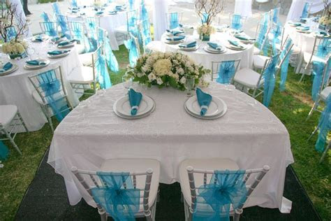 aqua and silver wedding theme   Southwestern Silver and