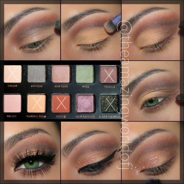 Pictorial using the lavish pallet