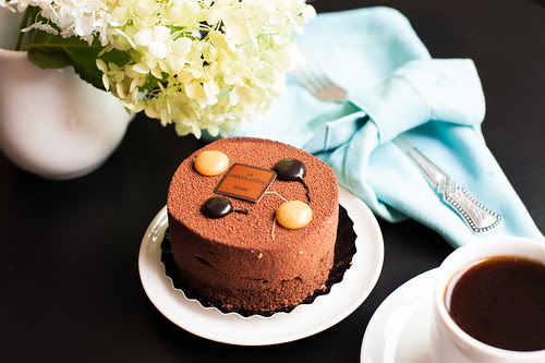 Chocolate small cake by Anna.Khatskevich