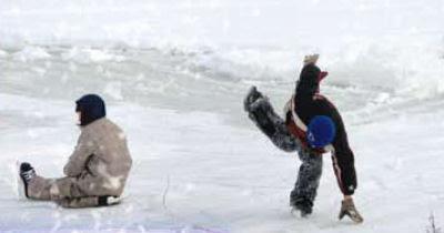 kids on ice at Winterfest