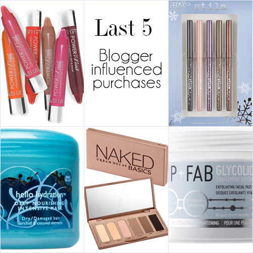 Beauty_blogger_Tag_purchases