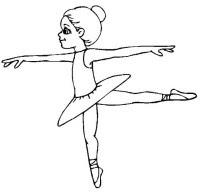 Ballerine Di Danza Classica Da Colorare