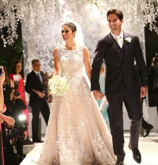 Ana Theresa e Felipe Carvalho