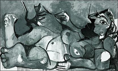 """""""Mujer con gato"""" de Pablo Picasso"""