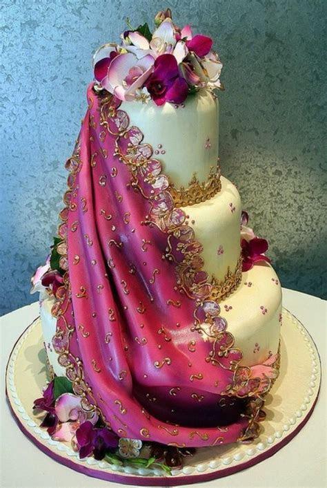 Indian Wedding   Indian Sari Wedding Cake #2030581   Weddbook