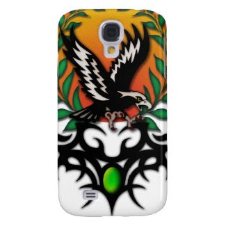 Eagle Sun, tribal jewel Samsung Galaxy S4 Cover