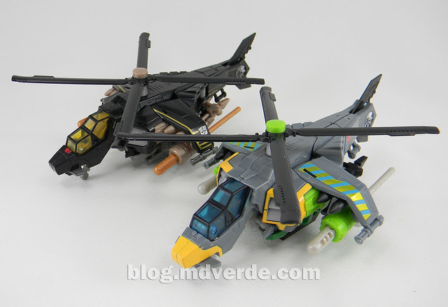 Transformers Springer Deluxe - Generations GDO - modo alterno vs Tomahawk
