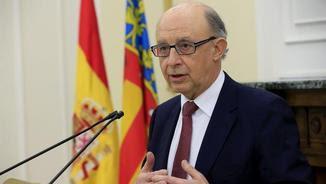 El ministre d'Hisenda en funcions, Cristóbal Montoro, ha convocat el Consell de Política Fiscal i Financera després de més de nou mesos (EFE)