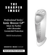 The Sharper Image Professional Series Ionic Breeze Gp Silent Air