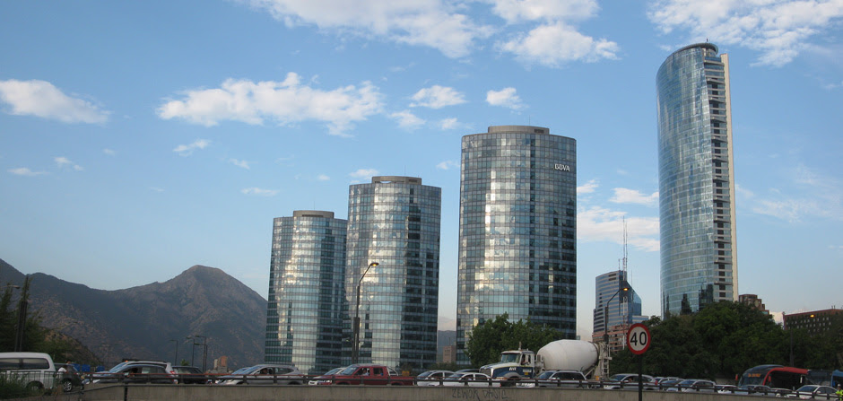 high rises in Santiago