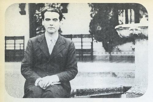 """Federico García Lorca en Toledo en los años 30. Cigarral de Menores. Del libro de Marcelle Auclair """"Enfances et mort de García Lorca"""", Ed Seuil, 1968"""