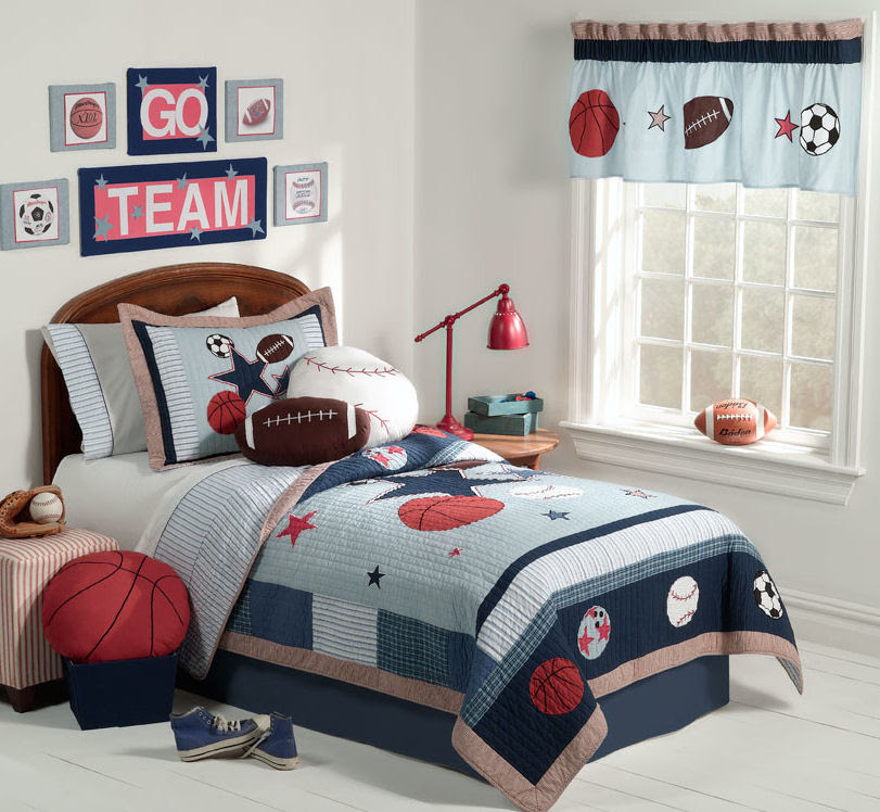 7 Ideas Sport Themed Bedrooms | Home Decor Report