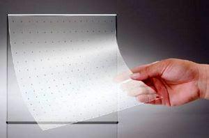 LG Transparent Color LED film