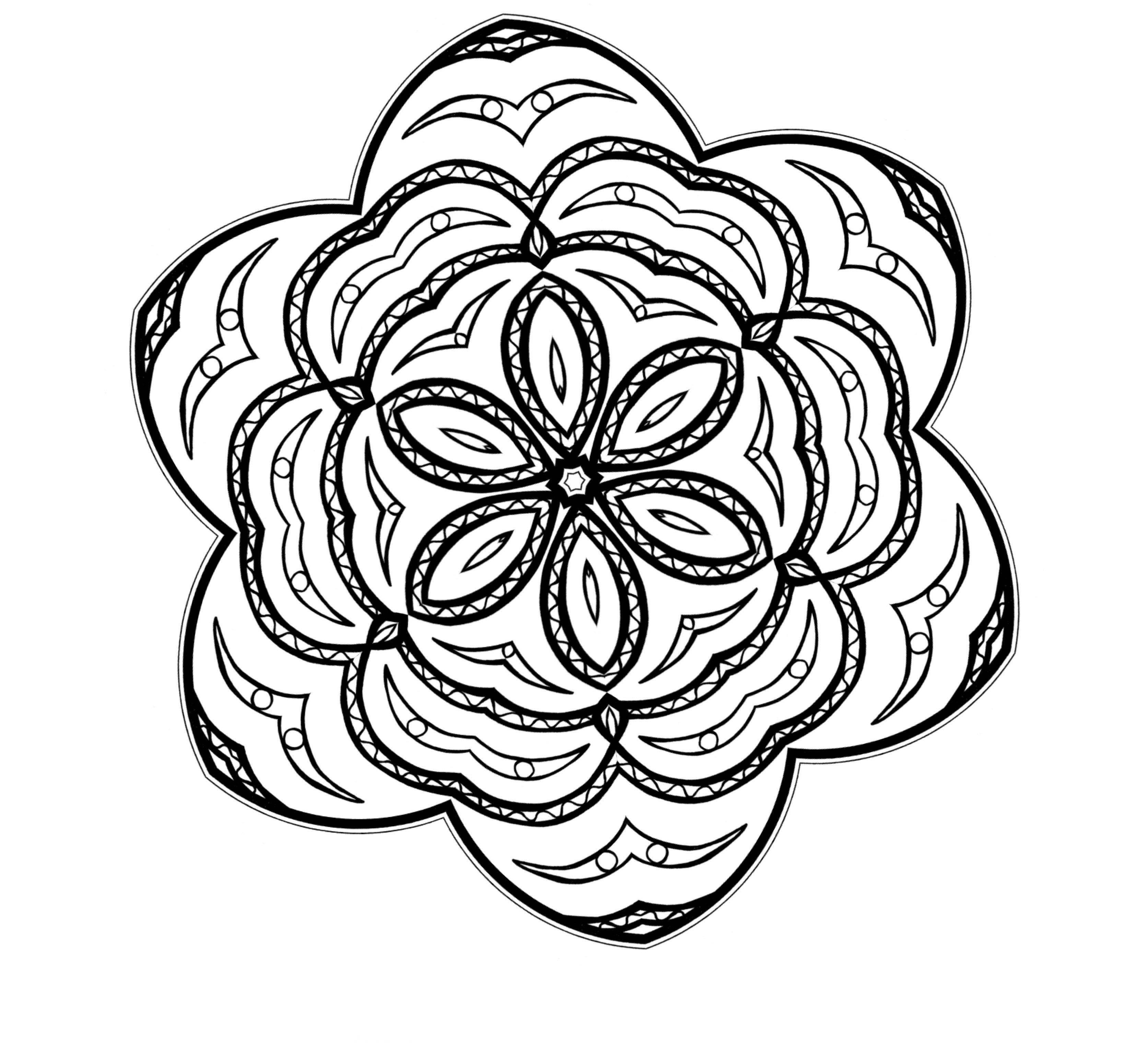 Flores Para Colorear Pintar E Imprimir