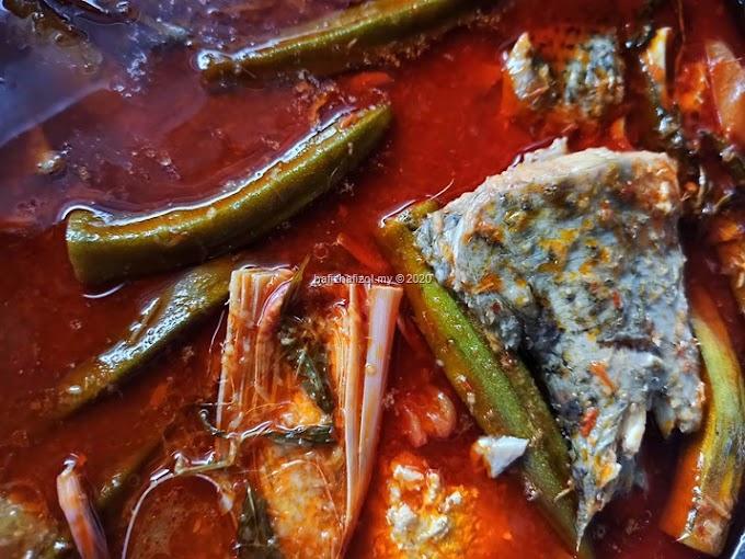 Resepi Asam Pedas Ikan Siakap Yang Sedap