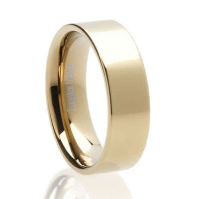 Pipecut Zirco Tungsten   Tungsten Carbide Wedding Rings