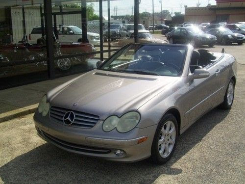 Sell used 2004 Mercedes Benz CLK 320 Convertible! Bank ...
