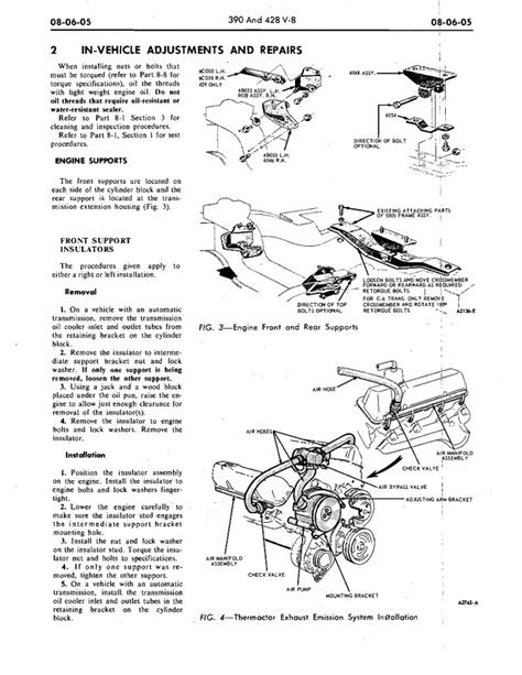 1969 Torino 390 frame/motor mount configuration - Ford
